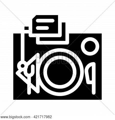 Serving Rules Glyph Icon Vector. Serving Rules Sign. Isolated Contour Symbol Black Illustration