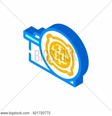 Concrete Products, Sewer Hatches Building Material Isometric Icon Vector. Concrete Products, Sewer H