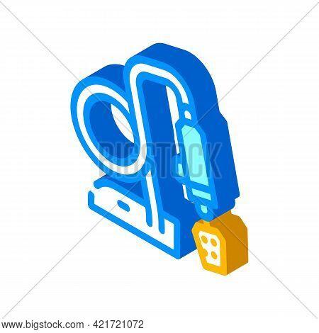 Polishing Gadget Isometric Icon Vector. Polishing Gadget Sign. Isolated Symbol Illustration
