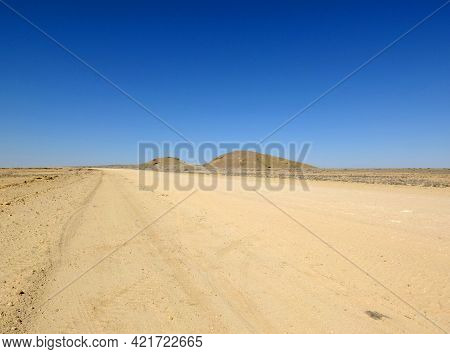 The Road On The Desert, Windhoek, Namibia