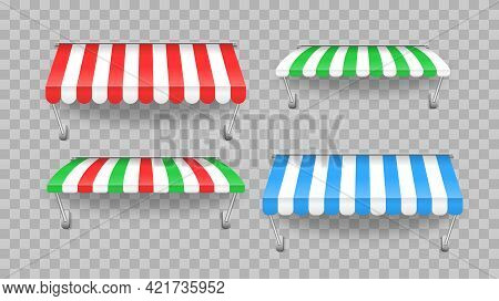 Outdoor Awning Canopy For Cafe, Shop Window.