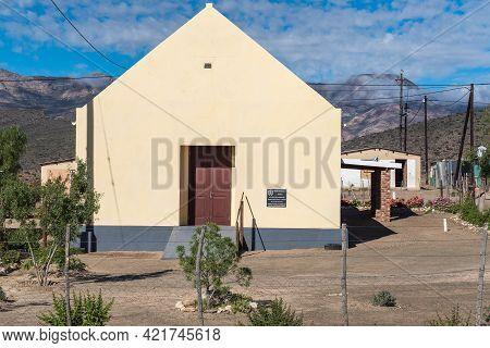 Klaarstroom, South Africa - April 5, 2021: The United Reformed Church In Klaarstroom In The Western