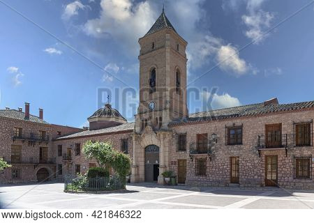 05-14-2021 Totana, Murcia, Spain. Hermitage Of Santa Eulalia, Mudejar Style The Hermitage Dates From