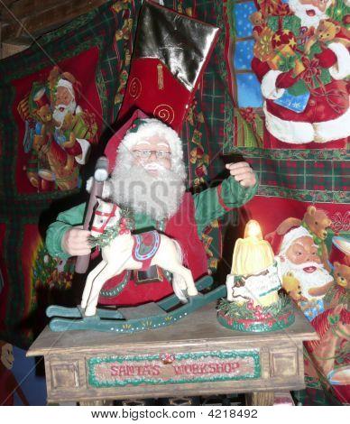 Santas Workshop Decoration
