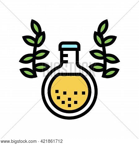 Elixir Phytotherapy Color Icon Vector. Elixir Phytotherapy Sign. Isolated Symbol Illustration