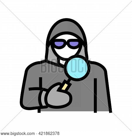Covert Operations Color Icon Vector. Covert Operations Sign. Isolated Symbol Illustration