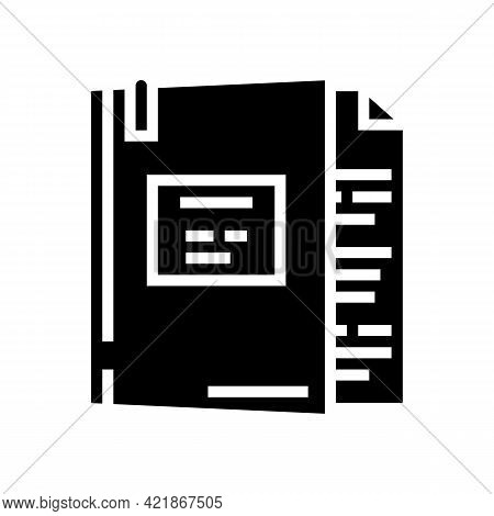 Case Law Glyph Icon Vector. Case Law Sign. Isolated Contour Symbol Black Illustration