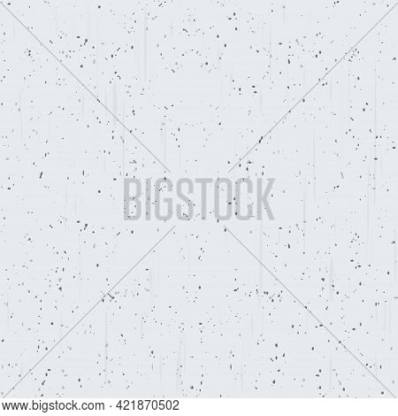 A White Concrete Material Seamless Vector Pattern.