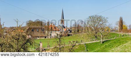 Scenic View Of Everdingen, Utrecht, The Netherlands