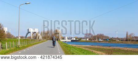 Scenic View Sluic Complex, Utrecht, The Netherlands