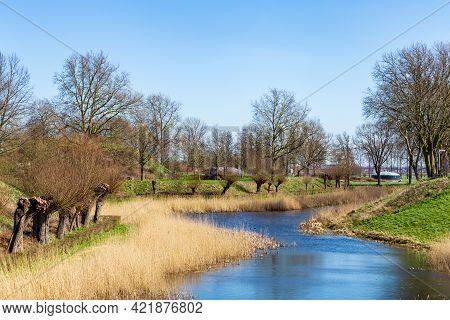 Scenics Of Fort Everdingen In The Netherlands