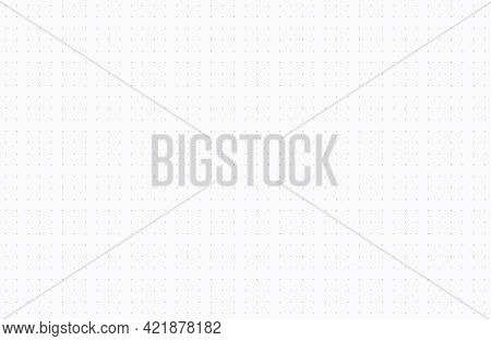 Dotted Grid Paper Texture Background. A Seamless Repeat Pattern With Real Paper Texture, Ideal For A