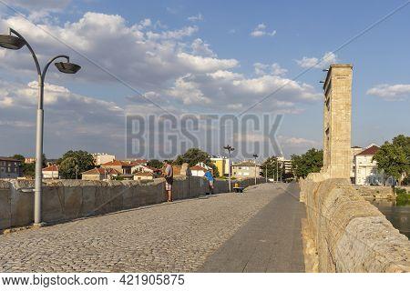 Mustafa Pasha Bridge In Town Of Svilengrad, Bulgaria