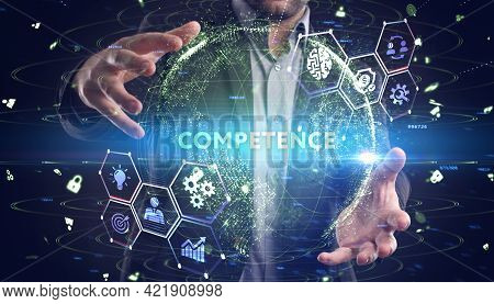 Business, Technology, Internet And Network Concept. Competence Skill Personal Development.