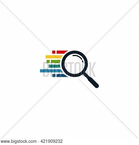 Fast Finder Logo Designs Template, Magnifying Logo Symbol