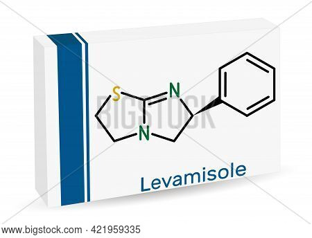 Levamisole Molecule. It Is Antihelminthic Drug For The Treatment Of Parasitic, Viral, Bacterial Infe
