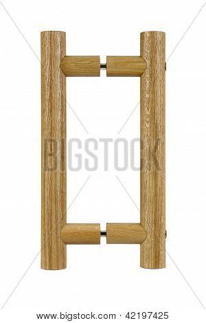 Wood Bar Doorhandle
