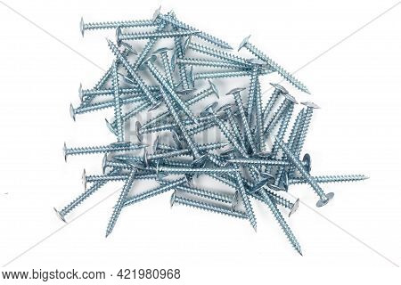 Self-tapping Screws Made Of Steel, Chrome-plated Self-tapping Screws, Screws For Mounting, Self-tapp