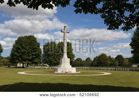 British Cemetery Of The Second World War, Bayeux, Calvados, Normandy, France