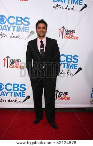 LOS ANGELES - OCT 8:  Ignacio Serricchio at the CBS Daytime After Dark Event at Comedy Store on October 8, 2013 in West Hollywood, CA