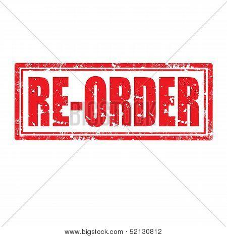 Re-order Stamp