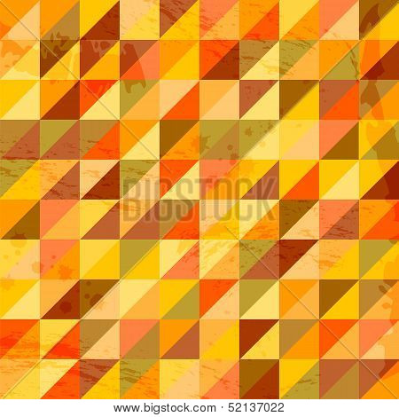 geometric pattern.background patterned with triangles.abstract background.grunge background.vector poster