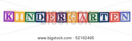 Baby Blocks Spelling Kindergarten