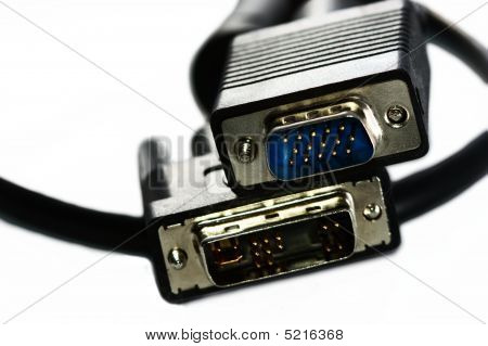 Pc Display Connector / Cable