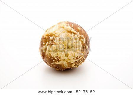 Fresh lye cheese bread roll