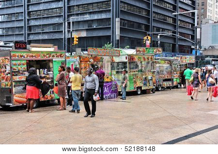Food Trucks, New York