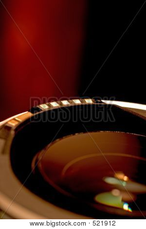 Lens In Red