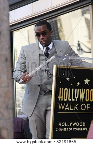 LOS ANGELES - OCT 10:  Sean Combs at the Kenny