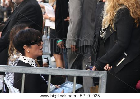 LOS ANGELES - OCT 10:  Kris Jenner at the Kenny