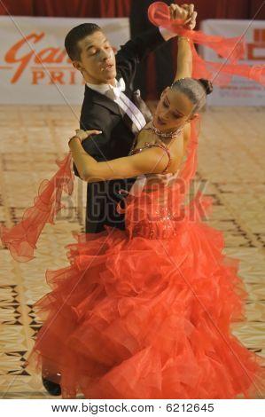 Ballroom Dancers: Calin Rusnac/ Andreea Maria Hogea