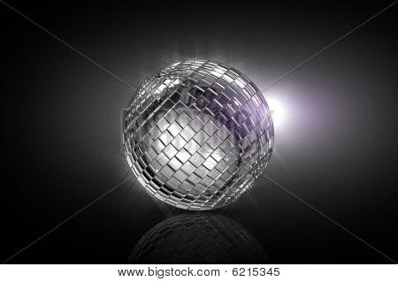 Rolling Disco Ball