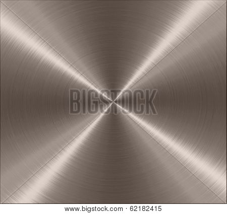 Bronze Metallic Stainless Steel Metal Texture Background poster