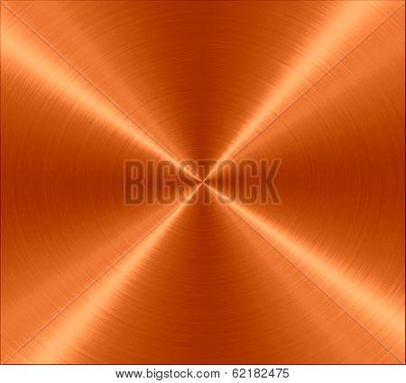 Orange Stainless Steel Metal