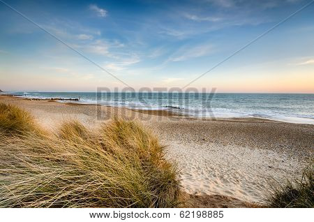 Sand Dunes At Hengistbury Head