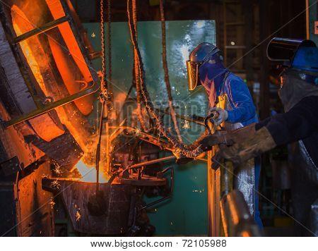 Matallurgic Production, Production