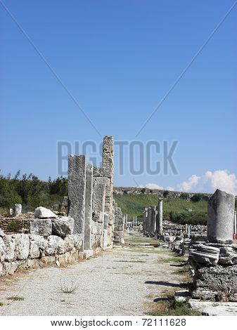Ancient street in Perg?.