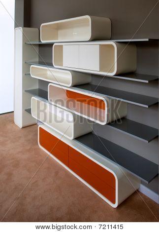 Modern child room interior design.