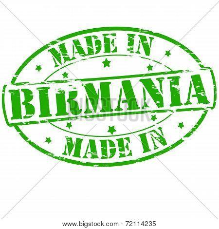 Made In Birmania