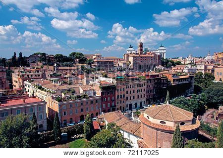 General View Of Rome