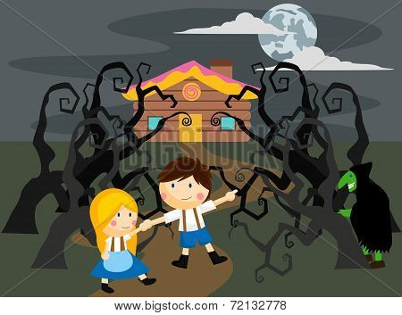 Spooky Hansel And Gretel