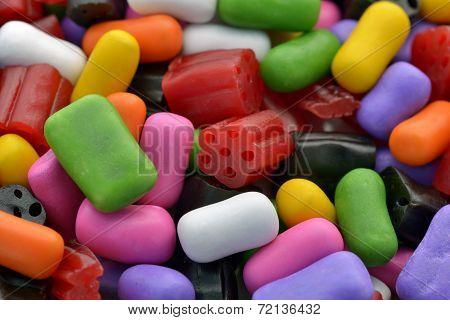 Variety Of Liquorice Candies