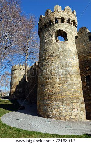 Walls Of The Baku