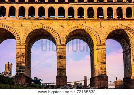 St. Louis Eads Bridge Roman Arches