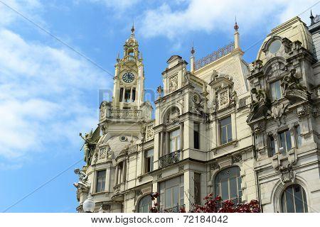 Old Buildings in Porto, Portugal