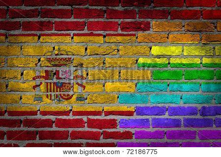 Dark Brick Wall - Lgbt Rights - Spain