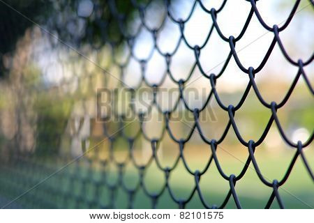 Chain link fencing Cyclone Fence